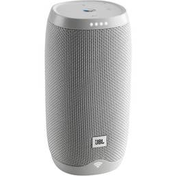 JBL Link 10 Google Voice Activated Portable Speaker (White)