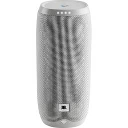 JBL Link 20 Google Voice Activated Portable Speaker (White)
