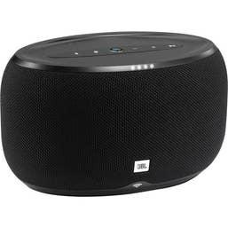 JBL Link 300 Google Voice Activated Speaker (Black)