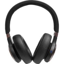 JBL Live 650BTNC Wireless Over Ear Headphones (Black)