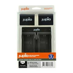 Jupio Dual USB Charger Kit with 2x Sony NP-FZ100 Battery