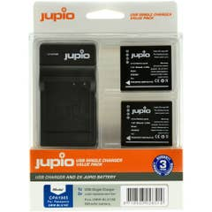 Jupio Duo KIT for Panasonic includes 2x Battery DW-BLG10 + USB Single Charger kit