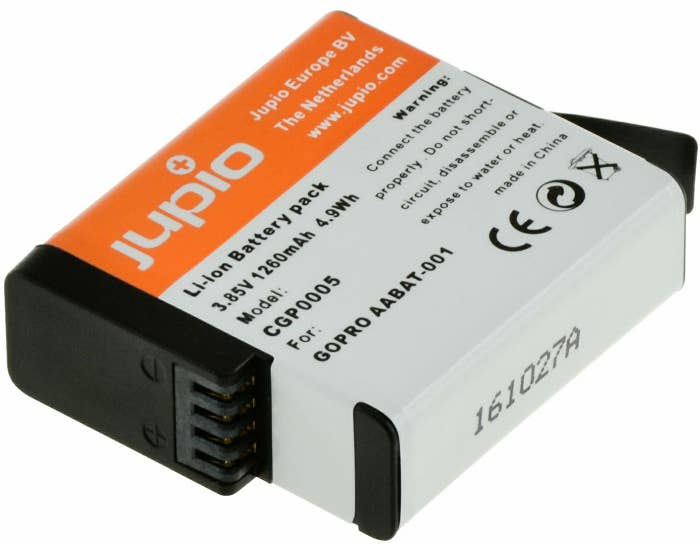 Jupio GoPro Hero5 Generic Battery
