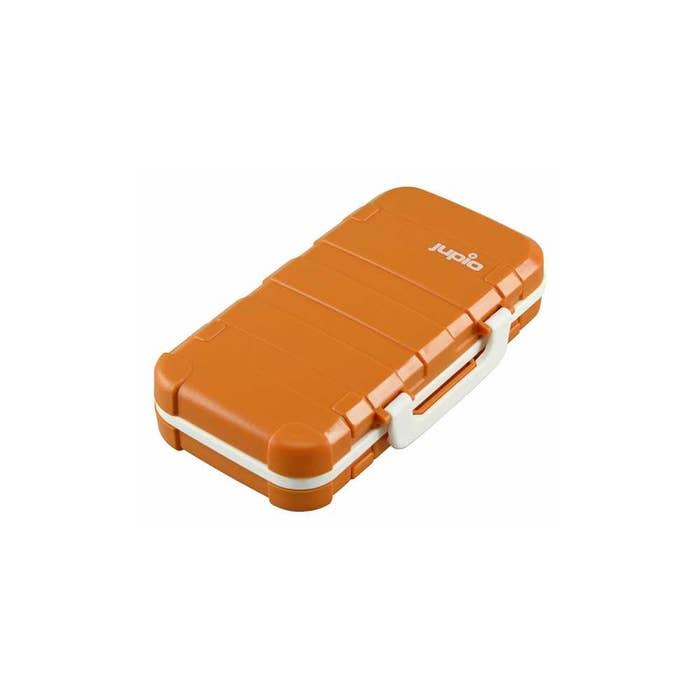 Jupio Hard Battery Case Fits 2 batteries  plus 14 Memory Cards