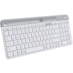 Logitech K580 Slim Multi-Device Wireless Keyboard - Off-White