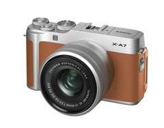 FujiFilm X-A7 w/ 15-45mm Camel Brown