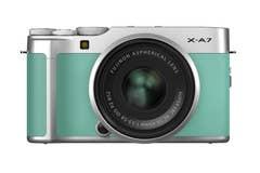 FujiFilm X-A7 w/ 15-45mm Mint Green