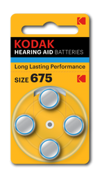 Kodak Battery K675ZA 4PK