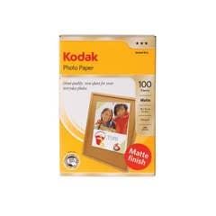 Kodak 120GSM 100 Sheets Matte Finish Instant Dry 120gsm 4R Photo Paper