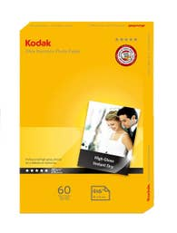 Kodak 280GSM 60 Sheets Ultra Premium 280gsm 4x6 Photo Paper