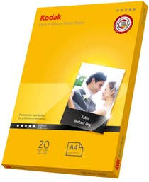 Kodak Inkjet Satin Ultra Premiun Photo Paper A4 20 Sheets