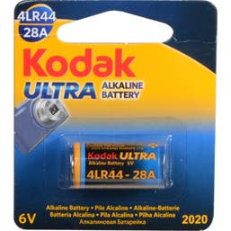 Kodak K28A/4LR44 6V Ultra Alkaline Battery