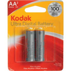 Kodak Ultra Premium Alkaline Battery AA 2PK
