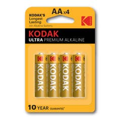 Kodak Ultra Premium Alkaline Battery KAA-4PK
