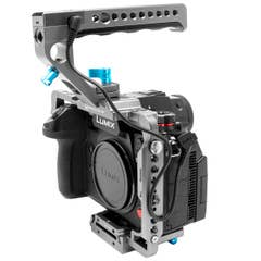 Kondor Panasonic Lumix S1H Cage with Remote Trigger Handle (S1/S1R/S1H)