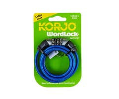 Korjo World Lock - Mini Cable Lock