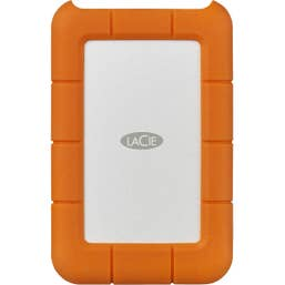 Lacie 2TB Rugged Secure USB-C/Thunderbolt 3 Portable External Hard Drive