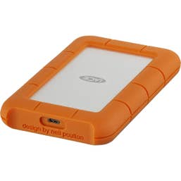 LaCie 1TB Rugged USB 3.1 Gen 1 Type-C External Portable Hard Drive