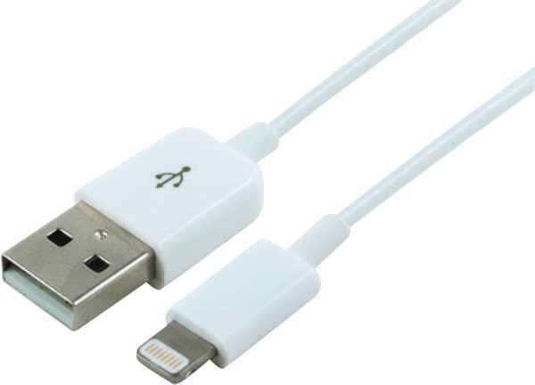 Klik Lightning Charge/Sync Cable - MFI 25cm - White