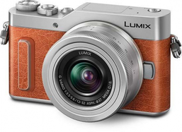 Panasonic Lumix GX880 Single Kit - Orange stylish everyday camera.