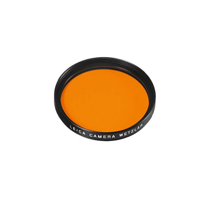 Leica Filter Orange E49 black