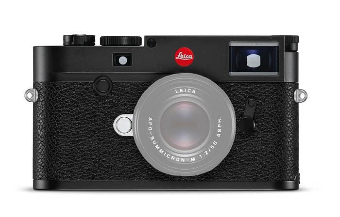 Leica M10-R Black Chrome Finish
