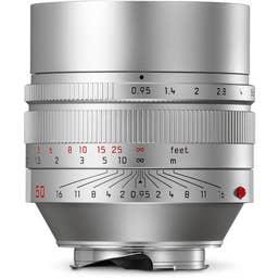 LeicaNoctilux-M 50mm f/0.95 ASPH - Silver
