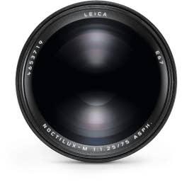 Leica Noctilux-M 75mm f/1.25 ASPH. Lens