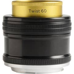 Lensbaby Twist 60mm f2.5 Optic with Straight Body for Canon EF