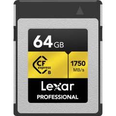Lexar 64GB CFexpress Type B 1750MB/ read / 1000MB/s write