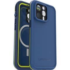 LifeProof FRE MAGSAFE Case for Apple iPhone 13 Pro, Onward Blue- 77-83673
