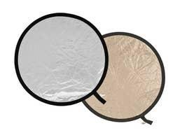 Lastolite Collapsible Reflector 75cm - Sunfire/Soft Silver