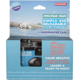 Lomography Simple Use Camera with Underwater Case - Colour Negative 400