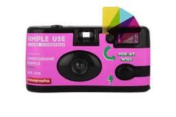 Lomography Single Use Camera Lomochrome Purple