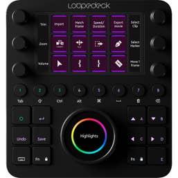 Loupedeck CT Photo & Video Editing Console