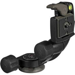 Manfrotto 460MG 3D Magnesium Head with RC2 Quick Release - Supports 3kg