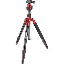 Manfrotto Element large Aluminum Traveler Tripod with Ball Head and Bag (Red)