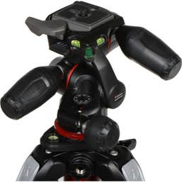 Manfrotto MT055XPRO3 with 3 Way Pan/Tilt Head Tripod Kit  (MK055XPRO3-3W)