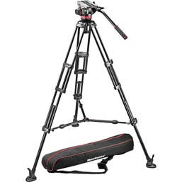 Manfrotto MVH502A.546BK-1 Video Kit 83/165cm Legs Pro Tripod