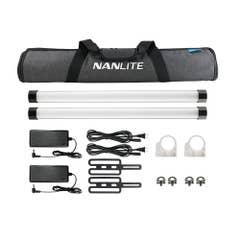 Nanlite PavoTube II 15X 2ft RGBW LED tube 2KIT