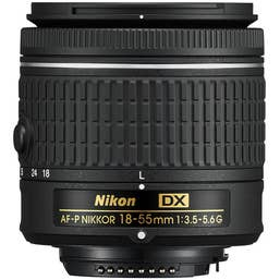 Nikon AF-P DX NIKKOR 18-55mm f/3.5-5.6G Lens