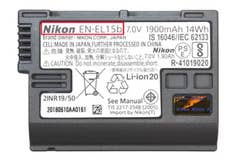 Nikon EN-EL15b Battery for Nikon Z7 and Z6 mirrorless cameras