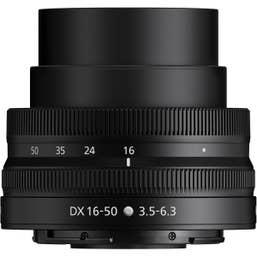 Nikon Z DX 16-50mm f/3.5-6.3 VR Lens