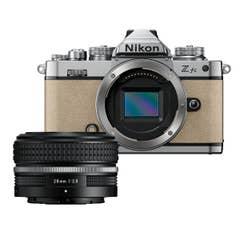 Nikon Z fc Sand Beige with Nikkor Z 28mm f/2.8 (SE)