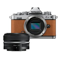 Nikon Z fc Amber Brown with Nikkor Z 28mm f/2.8 (SE)