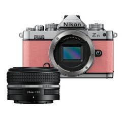 Nikon Z fc Coral Pink with Nikkor Z 28mm f/2.8 (SE)