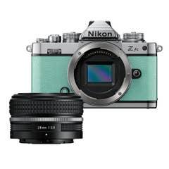 Nikon Z fc Mint Green with Nikkor Z 28mm f/2.8 (SE)