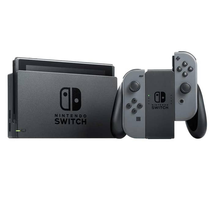 Nintendo Switch Console Grey