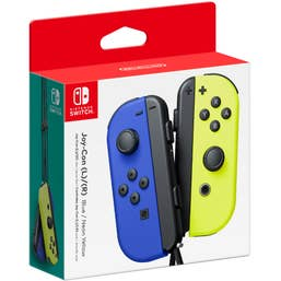 Nintendo Switch Joy-Con Blue and Neon Yellow Pair