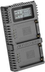 Nitecore FX2 Fujifilm USB Dual Slot Charger for Fuji NP-T125